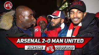 Arsenal 2-0 Man United | Arteta Has Energized This Team!!