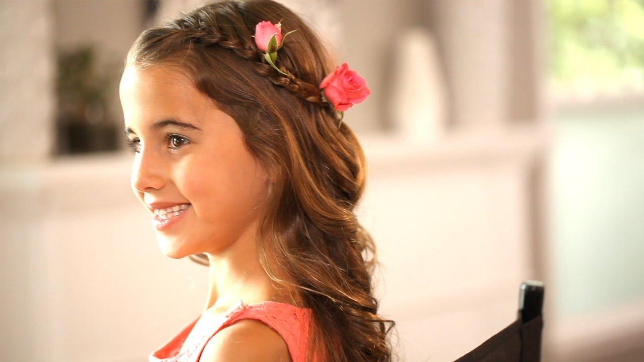 Flower Girl Hairstyles Kin Community YouTube
