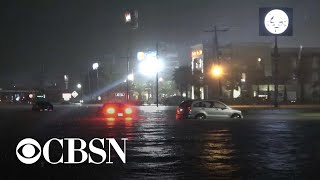 Parts of Texas and Louisiana face major flooding from Tropical Storm Imelda