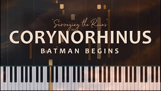 Corynorhinus: Batman Begins Medley - Hans Zimmer and James Newton Howard (Piano Solo + Tutorial)