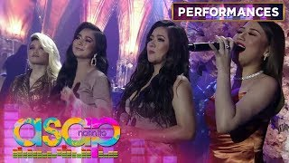 "New Generation Divas ""SHINE"" on their performance with Regine 