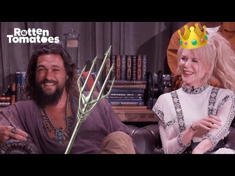 Aquaman UNCUT Comic-Con Interview | Rotten Tomatoes streaming vf