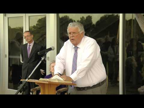 Athens Christian School Founders Hall Dedication 10-10-14
