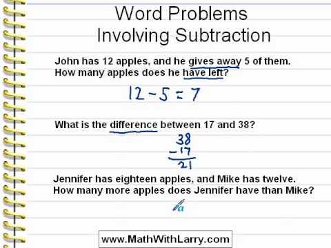 Solve math word problems free online