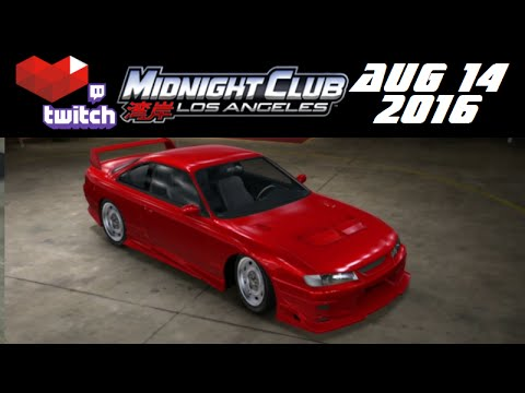Stream Archive - Midnight Club: Los Angeles - 8/14/16