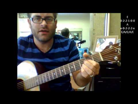 "How to play ""Got My Mind Set On You"" by George Harrison on acoustic guitar"
