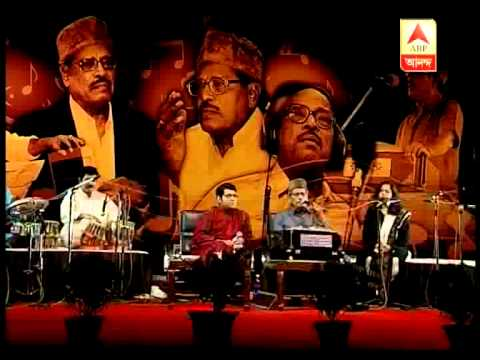 A musical moment with legendary singer Manna dey---Jibaner Jalshaghare