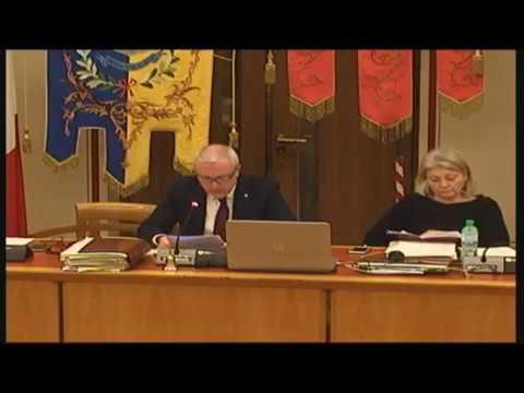 Consiglio Comunale 17 febbraio 2020 Int Incasso introiti sanzioni