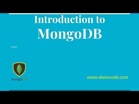 MongoDB Tutorial for Beginners | Introduction to MongoDB