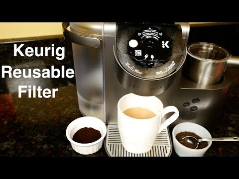 Keurig My K-Cup Universal Reusable Ground Coffee Filter Review and Demo