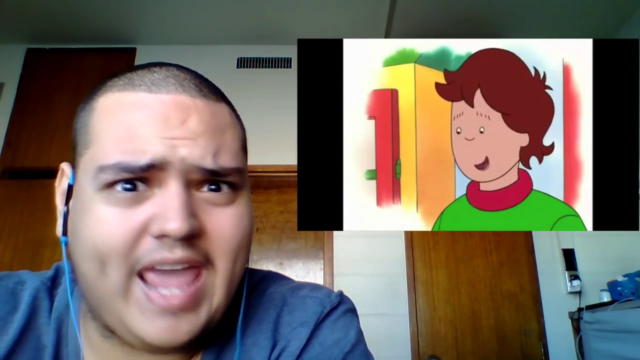 Download (ABRAHAM FOULKES ARCHIVE) Reaction #25 - Caillou meets Gilbert