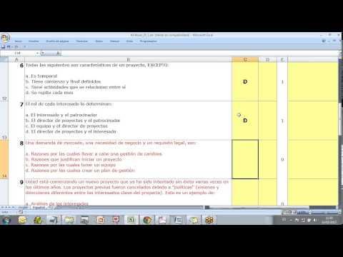 ejemplos preguntas PMP