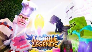 (MOBA) MOBILE LEGENDS VS MONSTER SCHOOL (Minecraft Animation)