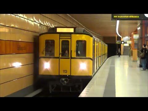 Führerstandsmitfahrt Typ B II U5 Alexanderplatz - Betriebswerk Friedrichsfelde