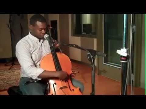 Kevin Olusola in CPR's Performance Studio