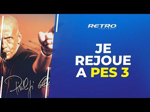 Retro Football : Je rejoue à PES 3 (meilleur jaquette ever)