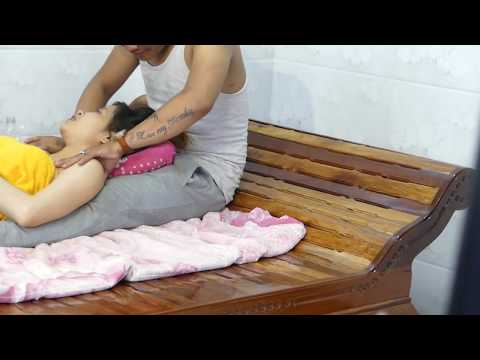 wow Asian Massage Techniques 2 Hands for Big Bady  Reflexology Benifit and Weigh Loss 2019