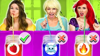 Download lagu DON'T CHOOSE THE WRONG MYSTERY DRINK CHALLENGE. Totally TV Parody.