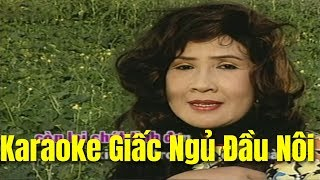 Karaoke Giấc Ngủ Đầu Nôi - Lệ Thủy & Trọng Hữu
