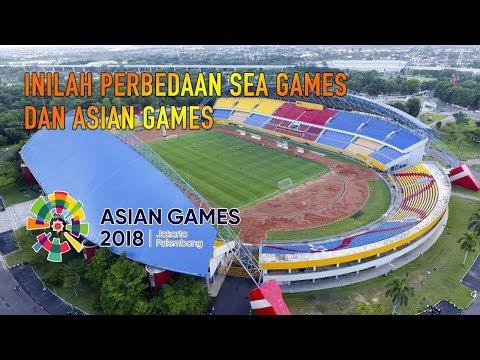 Inilah Perbedaan SEA Games Dan ASIAN Games