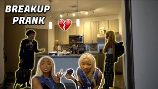 """BREAK UP"" Prank On Bae! **Emotional**"