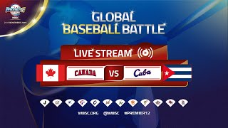 Canada v Cuba - WBSC 2019 Premier12 Group Stage