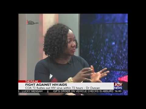 Ghanaian Dr develops 72 hour Herbal HIV cleanse - Dr~Patient Testimony
