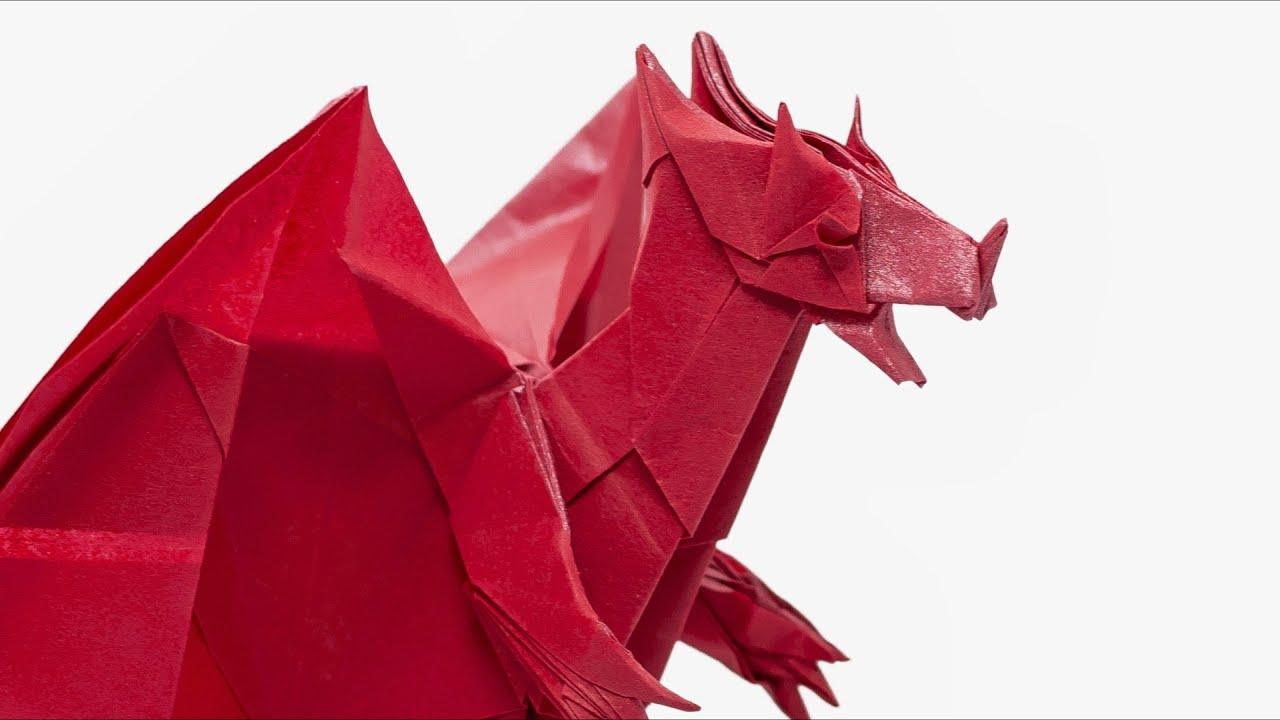 Origami Devil Dragon - Time-lapse (Jo Nakashima) - YouTube - photo#41