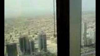 the view from mommy hazel's office in emirates towers