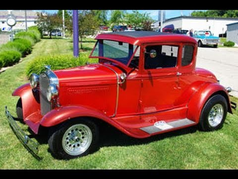 1931 ford model a five window coupe street rod youtube. Black Bedroom Furniture Sets. Home Design Ideas