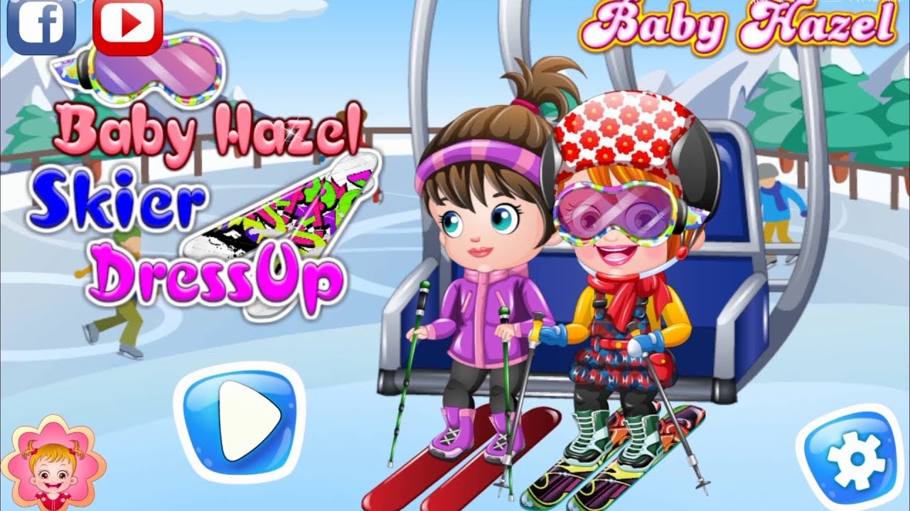 Skier Dress Up Game Fun Game Videos By Baby Hazel Games Youtube