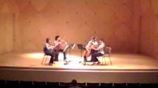 Mendelssohn String Quartet #1 opus 12 IV. Molto allegro e vivace