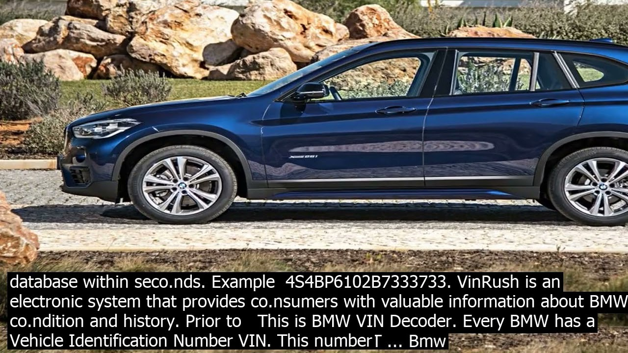 Check Bmw Warranty With Vin Decoder Resources For Vehicle Owners Official Website Youtube