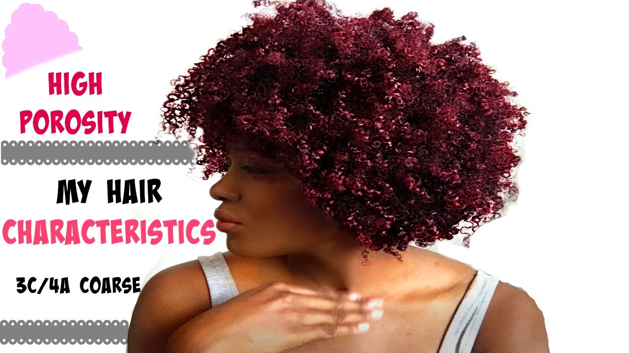 High Porosity Fine Natural Hair