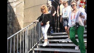 Алла Пугачева прилетела в Баку на музыкальный фестиваль