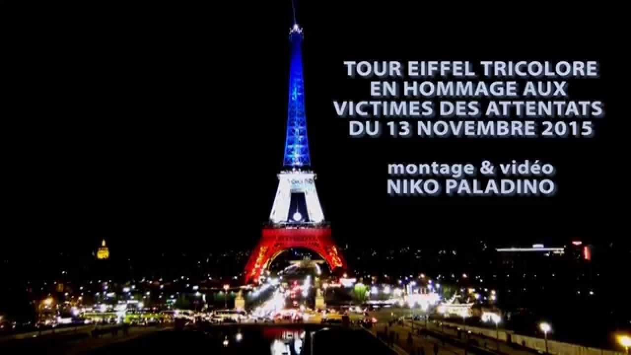 Tour eiffel tricolore la dame de fer aux couleurs du drapeau fran ais you - La dame de fer tour eiffel ...