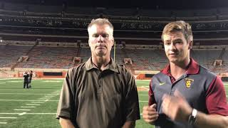 Trojan Insider postgame show- USC Texas