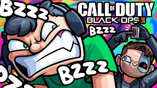 BO3 Zombies Funny Moments - The Button That Makes Nogla Rage!