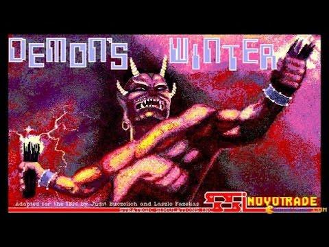 Demons Winter gameplay (PC Game, 1988) thumbnail