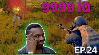 PUBG 300 IQ plays Ep. 24 | PlayerUnknown's Battlegrounds Highlights