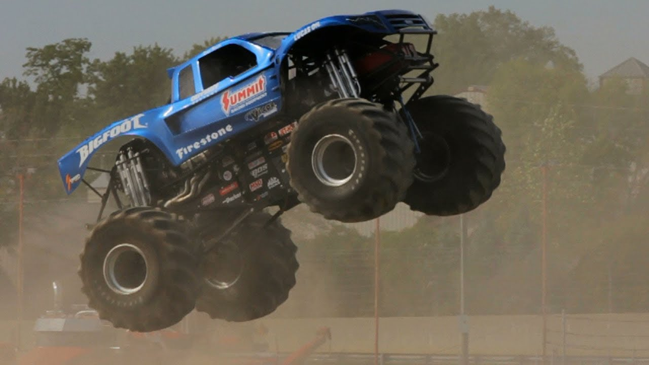 Bigfoot The Original Monster Truck The Downshift Episode