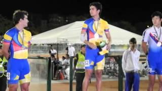 Premiación patinaje MASCULINO Pedro y Andres felipe oro, plata Colombia WG2013