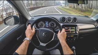 Suzuki Vitara | 4K POV Test Drive #380 Joe Black