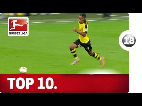 Top 10 Counter Attacking Goals - Advent Calendar 2015 Number 18
