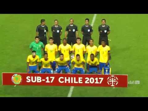 Seleção Brasileira Sub-17  melhores momentos de Brasil Sub-17 5 x 0 Chile cf1c341a804ba