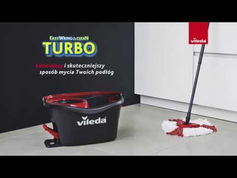 Mop Vileda Easy Wring Clean Turbo Youtube