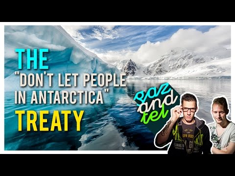 The Antarctic Treaty Conspiracy - Flat Earth Theory