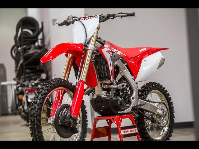 Honda Reveals Electric Start 2018 Crf250r Dirt Bike Magazine