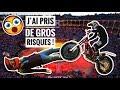 JE SUIS DEVENUE CASCADEUSE ! SHOW TRIAL, BMX, FMX, FREESTYLE - SALON AUTO-MOTO BRUXELLES PART.1