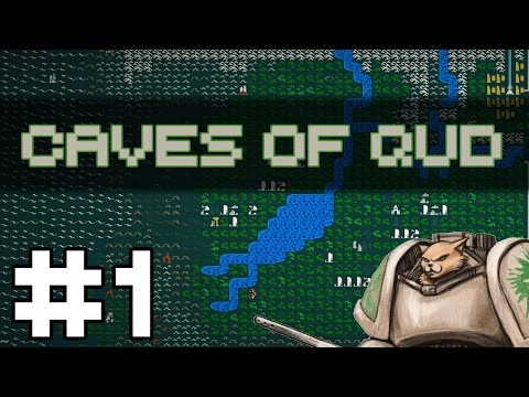 Caves of Qud - Beguiler - Let's Play Caves of Qud Gameplay